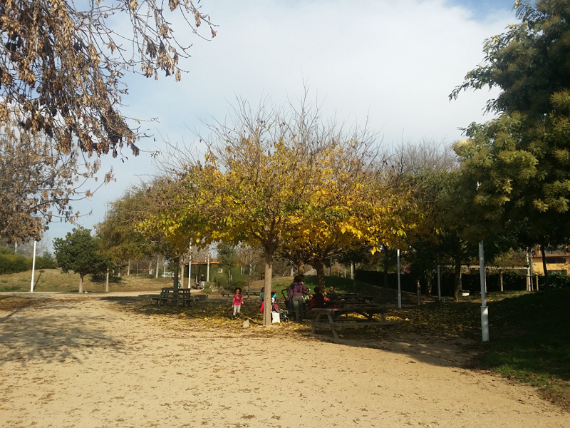 zona picnic parque malgrat de mar
