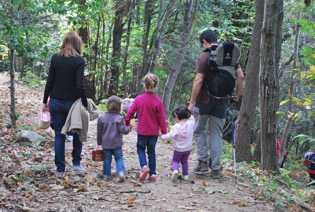 Ruta de senderismo con niños