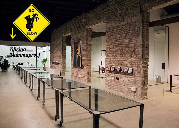 Oficina mammaproof barcelona for Oficina adecco barcelona