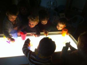 la cuca mesa de luz