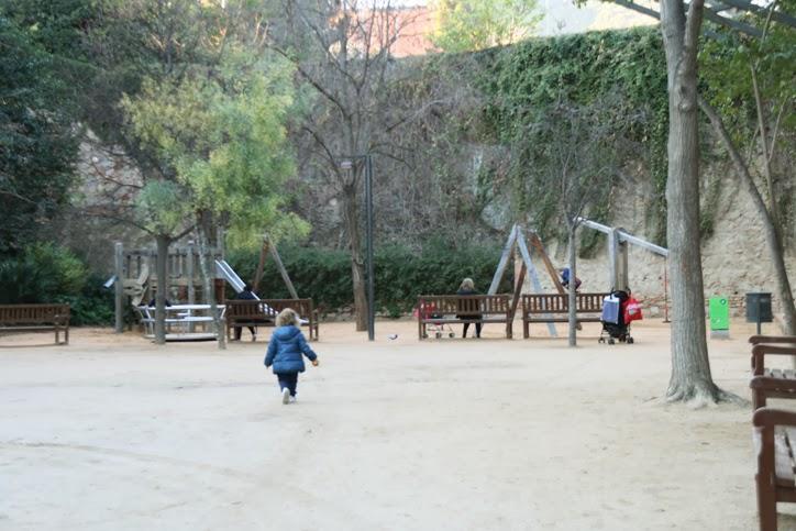 esplanada parque tamarita