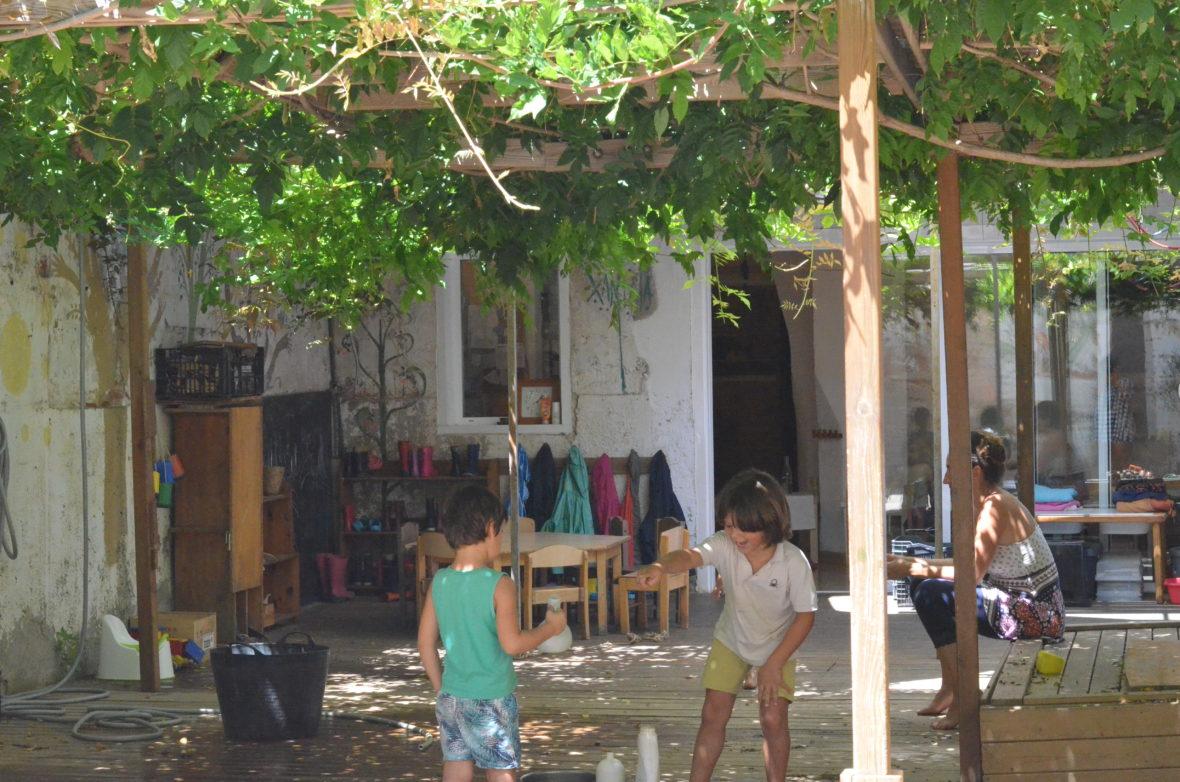 patio en Xantala