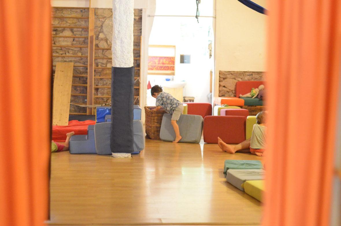 espacio de juego libre en Xantala