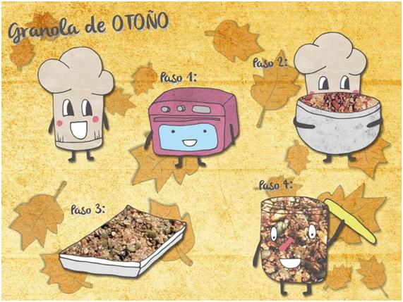 granola de otono