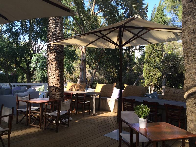 club house sitges terraza