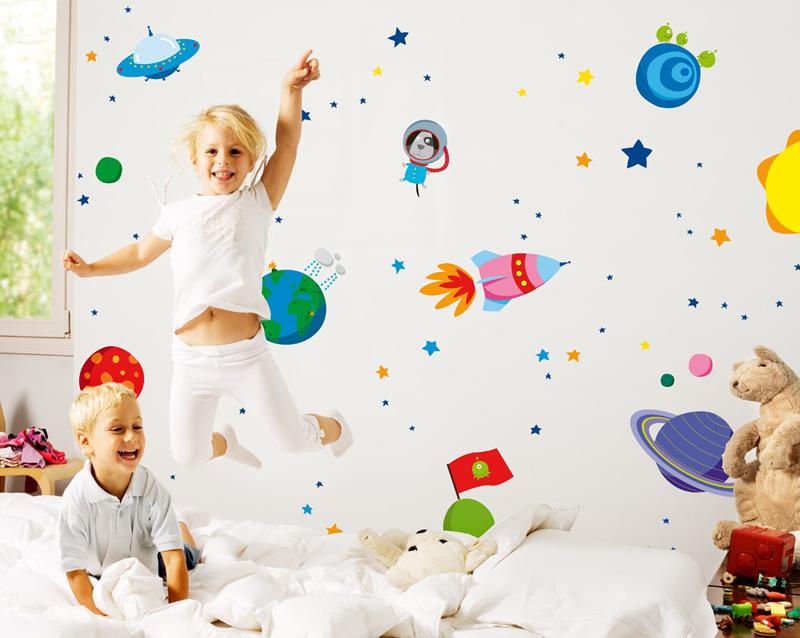 Bumoon vinilos de pared para habitaciones infantiles - Vinilos infantiles pared gotele ...