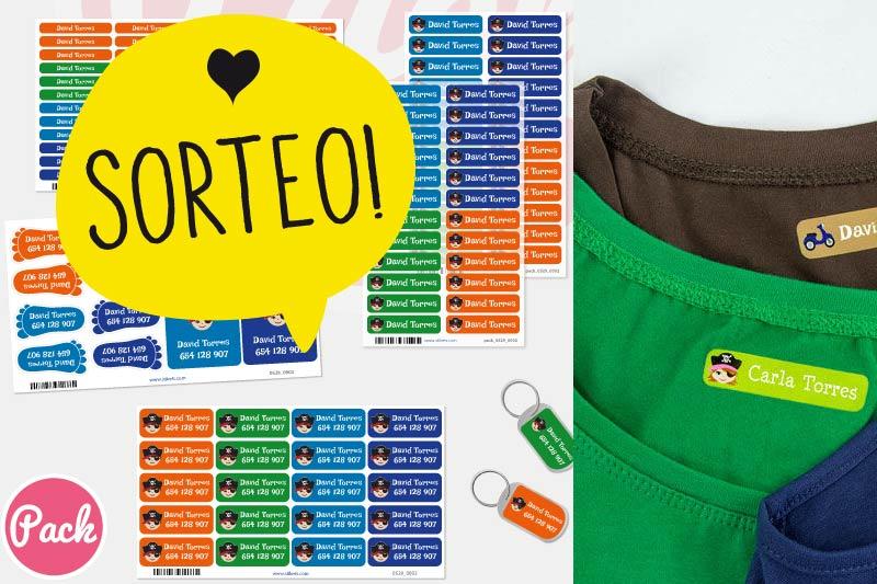 5d34afe18b836 Sorteo cerrado  Packs de etiquetas Stikets para marcar la ropa ...