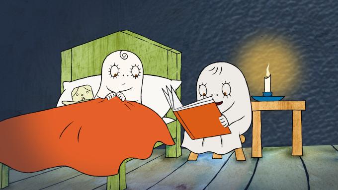 Laban, El petit fantasma. Quina por! Suecia, 30 min