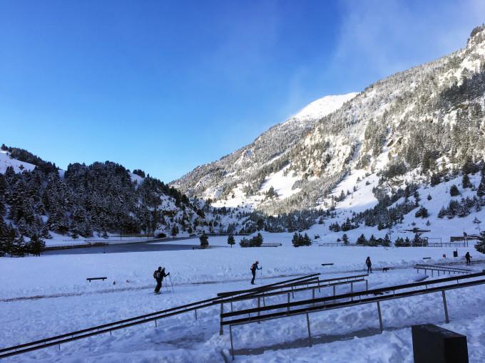 Vall de Núria por la mañana