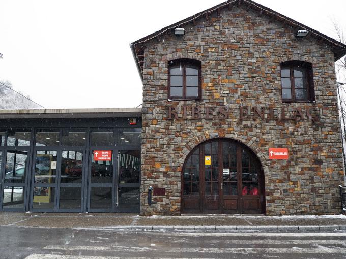 Estación Tren Cremallera Ribes Enllaç