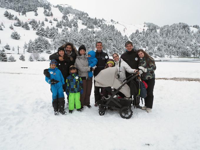 Foto de grupo Winter Vall dels Menuts