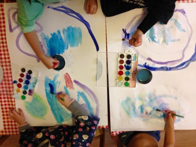 pintando-lamainada