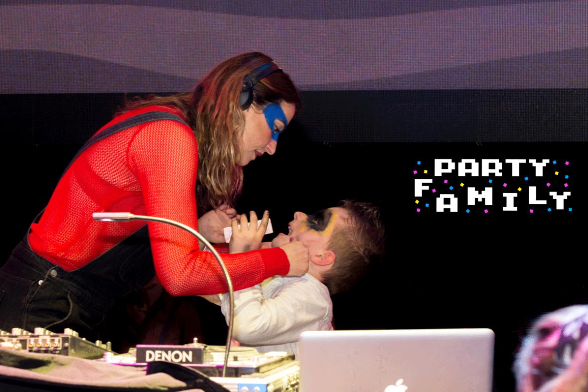 party family dj mom