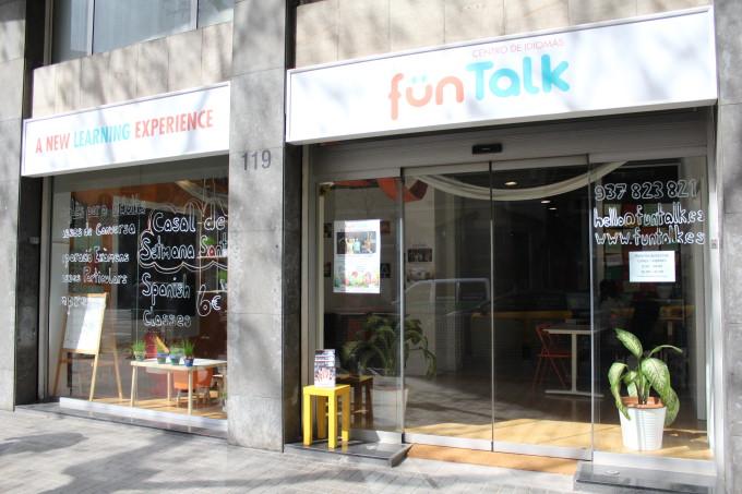 Fun Talk_escuela de idiomas_fachada