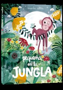 Pequeña-en-la-jungla-literatura-infantil-sant-jordi-mammaproof