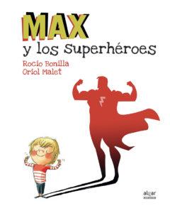 maxsuperhéroes-literatura-infantil-sant-jordi-mammaproof