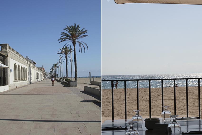 Paseo y playa del vendrell