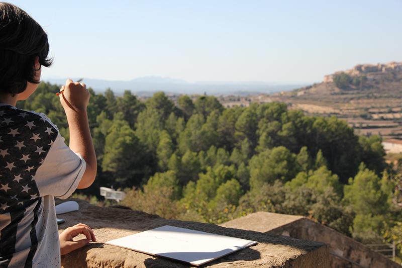Taller de Picasso en Horta de Sant Joan