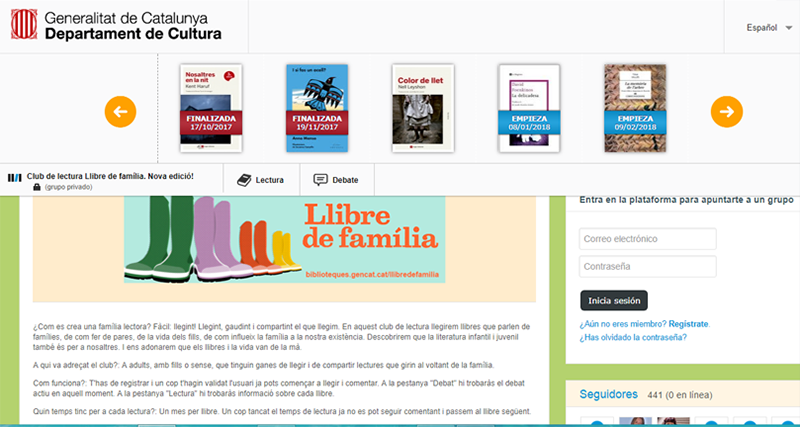 clubs lectura madres
