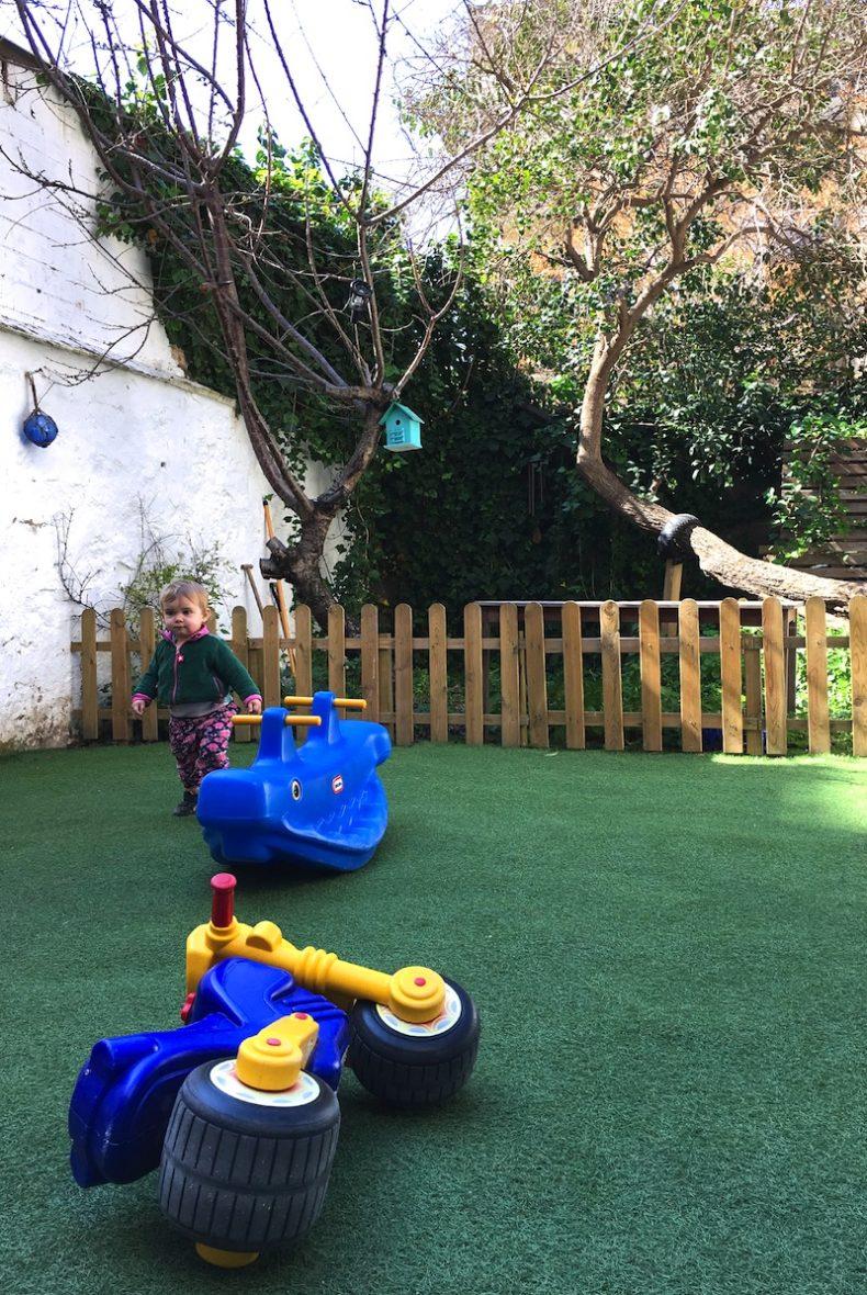 Merendar con niños en Barcelona - Pati verd