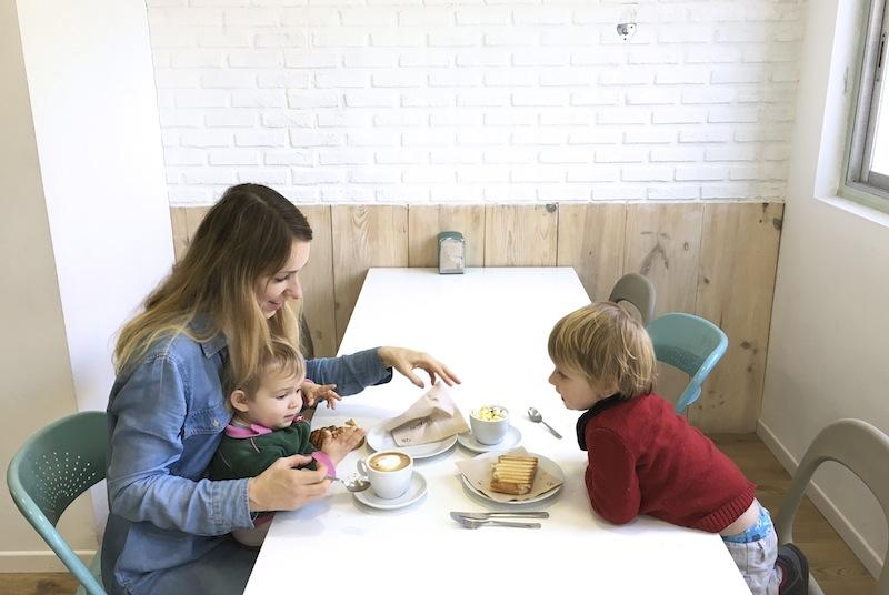 restaurantes para ir con niños en Barcelona - Pati verd