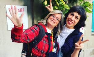 Marta Mercadé y Cris Moe