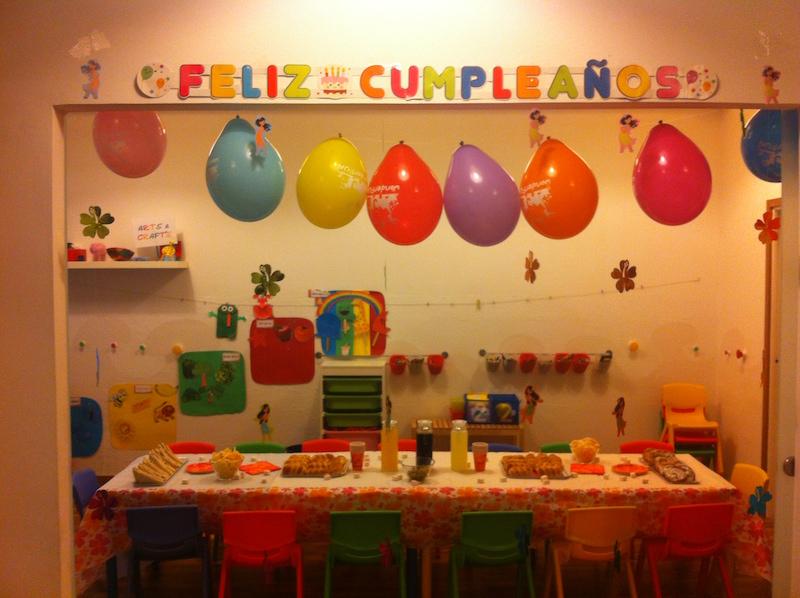 Fiesta de cumplea os en sarri sant gervasi mammaproof barcelona - Lucio barcelona decoracion ...