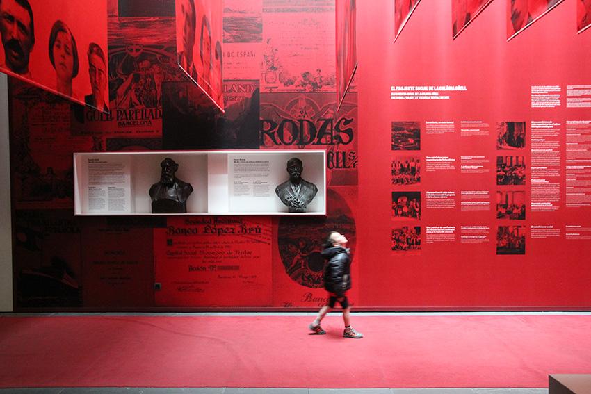 Exposición permanente Colonia Güell