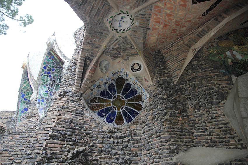 Vidriera Cripta Gaudí