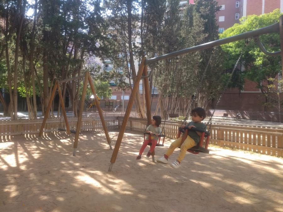 Jardins Josep Goday i Casals en Les Corts, Barcelona