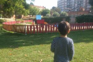 Jardins de la Maternitat en Les Corts, Barcelona