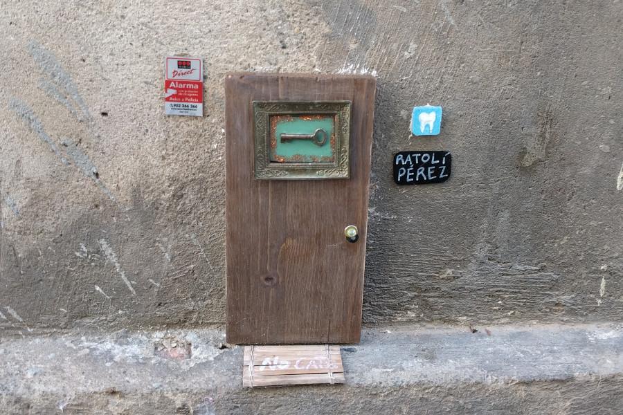 La casa del Ratoncito Pérez en Les Corts, Barcelona
