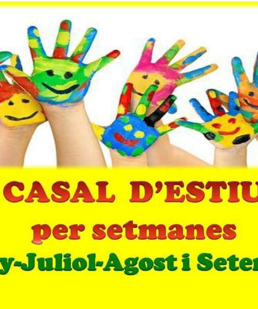 CARTELL CASAL ESTIU