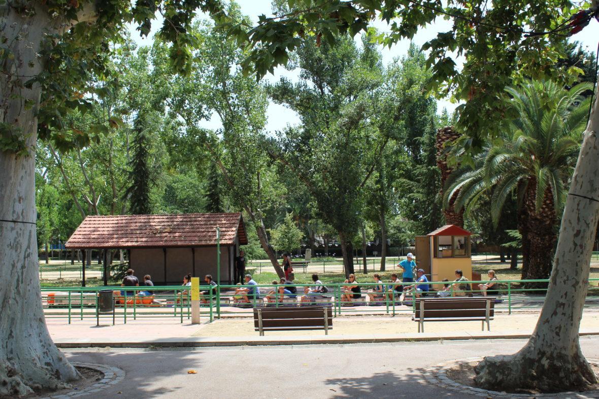 Trenecito parque Can Mercader