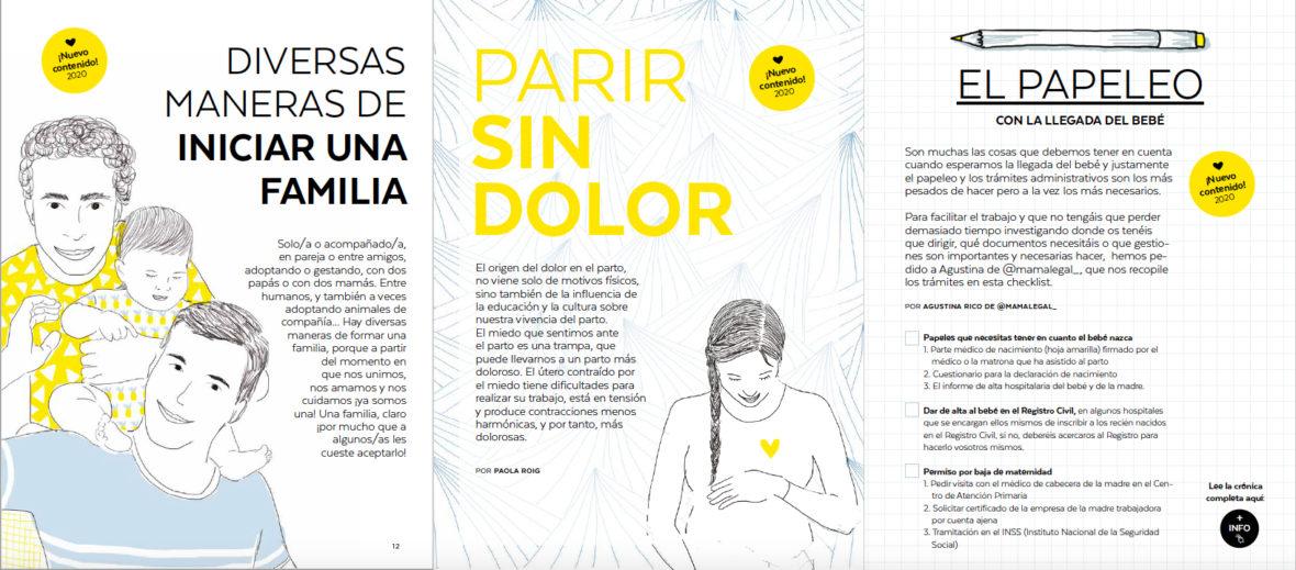 Nuevos contenidos Guía Mammaproof del Embarazo