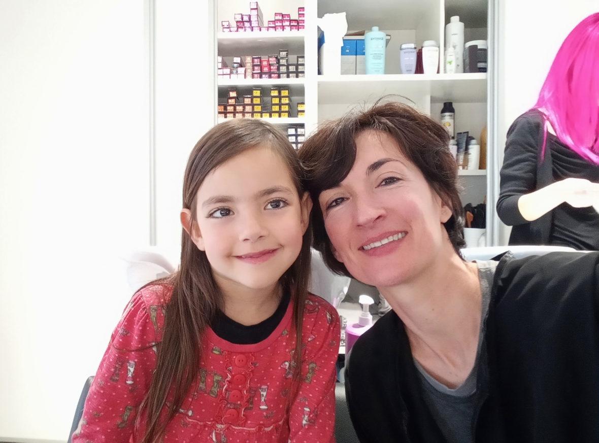 Laila y Ana en Raffel Pages Hospital Clínic