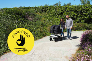 Mountain Buggy Duet Approved Mammaproof