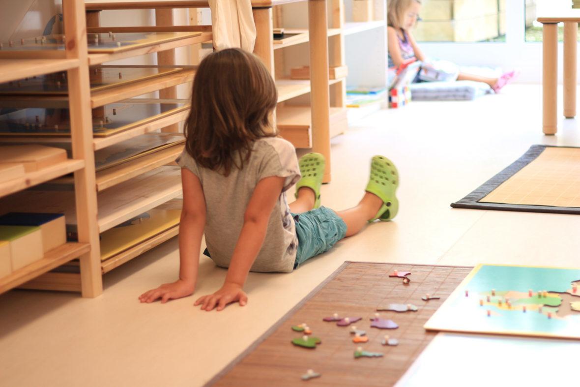 Moderato escuela montessori ambiente trabajo