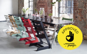 Stokke Tripp Trapp approved mammaproof sello