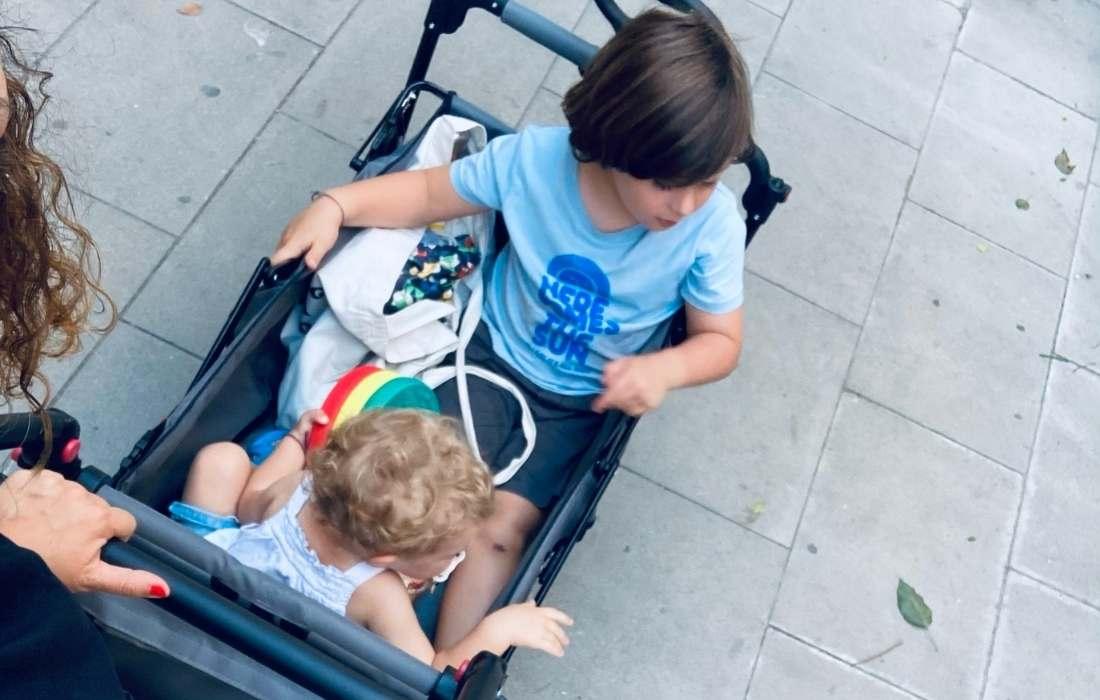 bollerwagen carrito interior niños mammaproof