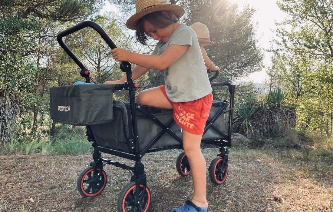 bollerwagen carrito niños niñas mammaproof