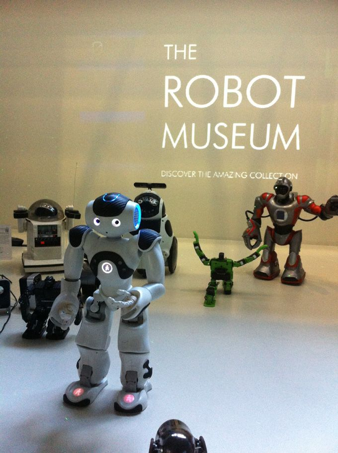 the robot museum