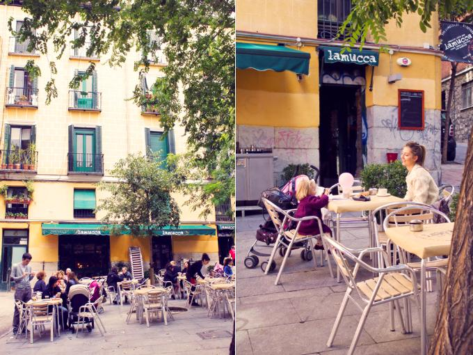 La mucca terraza family friendly mammaproof madrid for Restaurante la mucca madrid calle prado
