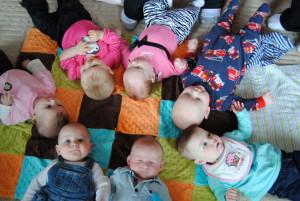 bebés en el google campus for mons