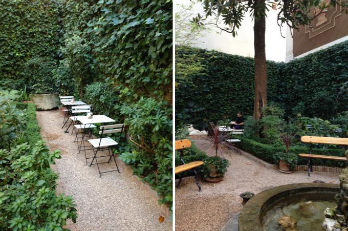 Caf del jard n una joya escondida en el centro de madrid for Cafe el jardin madrid