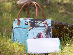 Walking mum. Namaste collection. Changing bag