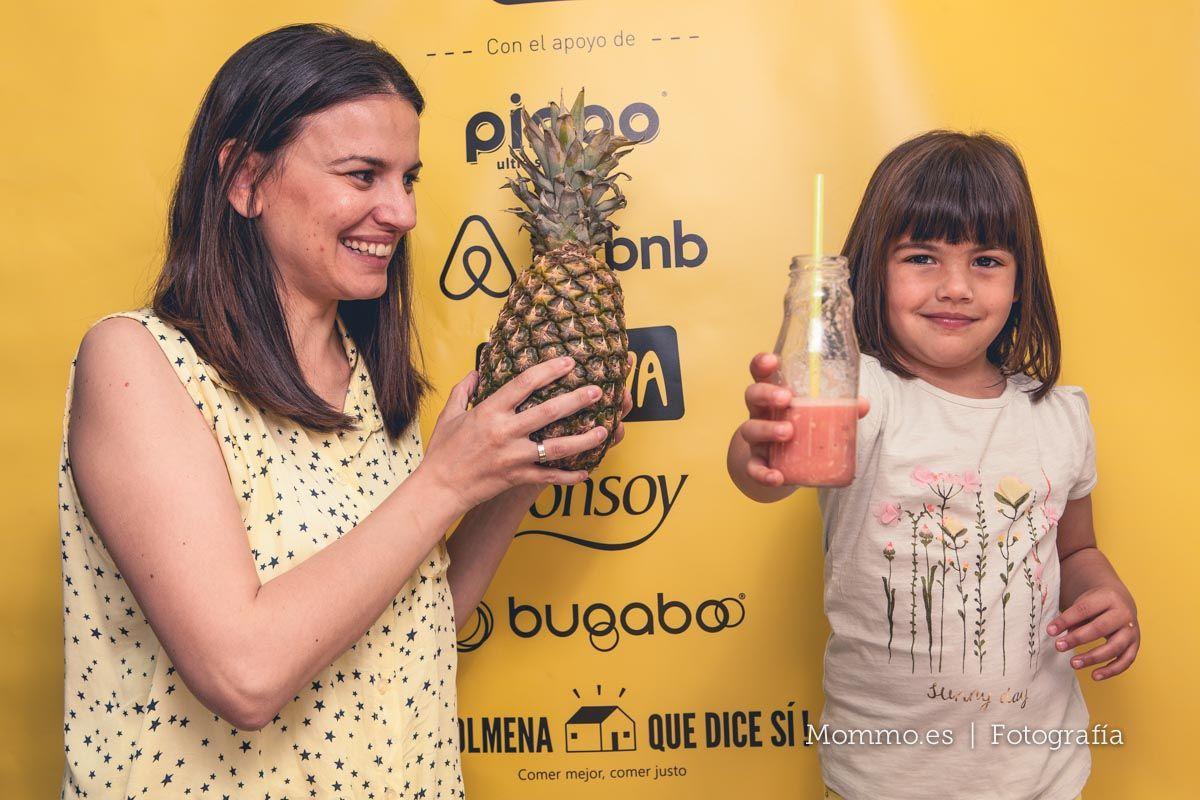 Presentación guía FoodieKids en Madrid. Almudena