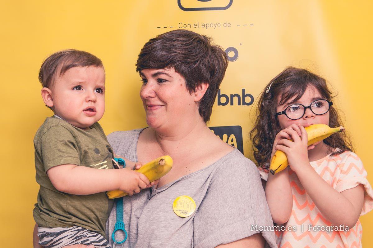 Presentación guía FoodieKids en Madrid. Familia Belén Oh my mum!
