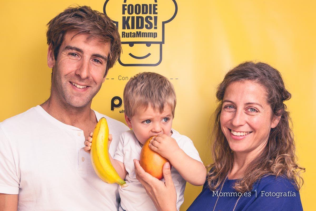 Presentación guía FoodieKids en Madrid. Familia Mariu