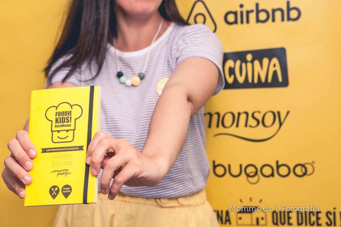 Presentación guía FoodieKids en Madrid
